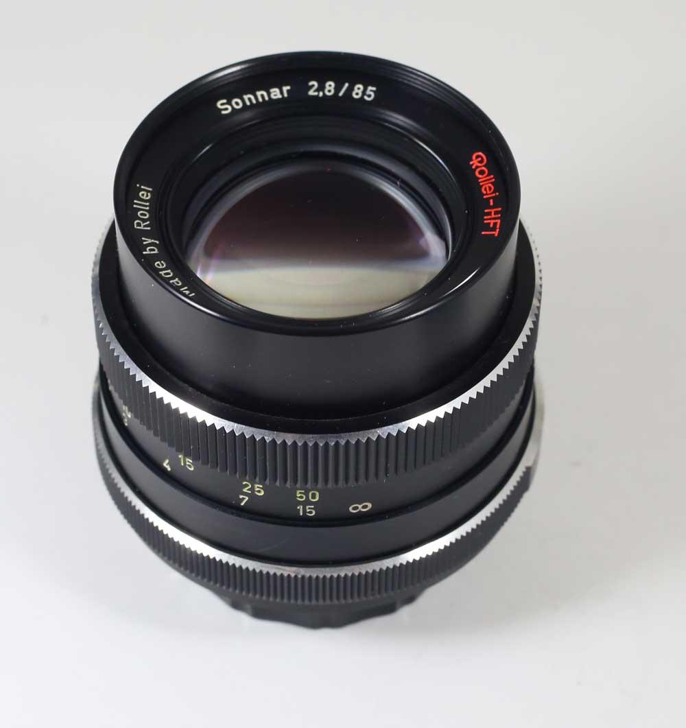 ドイツ製レンズ ローライ HFT ゾナー 2.8/85 M42用ROLLEI - HFT Sonnar 2,8/85 for M42