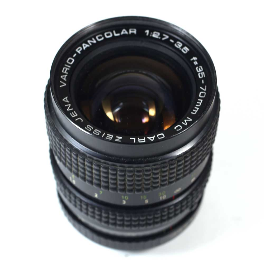 ドイツ製レンズ ツァイス ヴァリオ・パンカラー 35-70/2.7-3.5 M42用 Carl Zeiss Jena Vario-Pancolar 1:2,7-3,5 f=35-70mm for M42