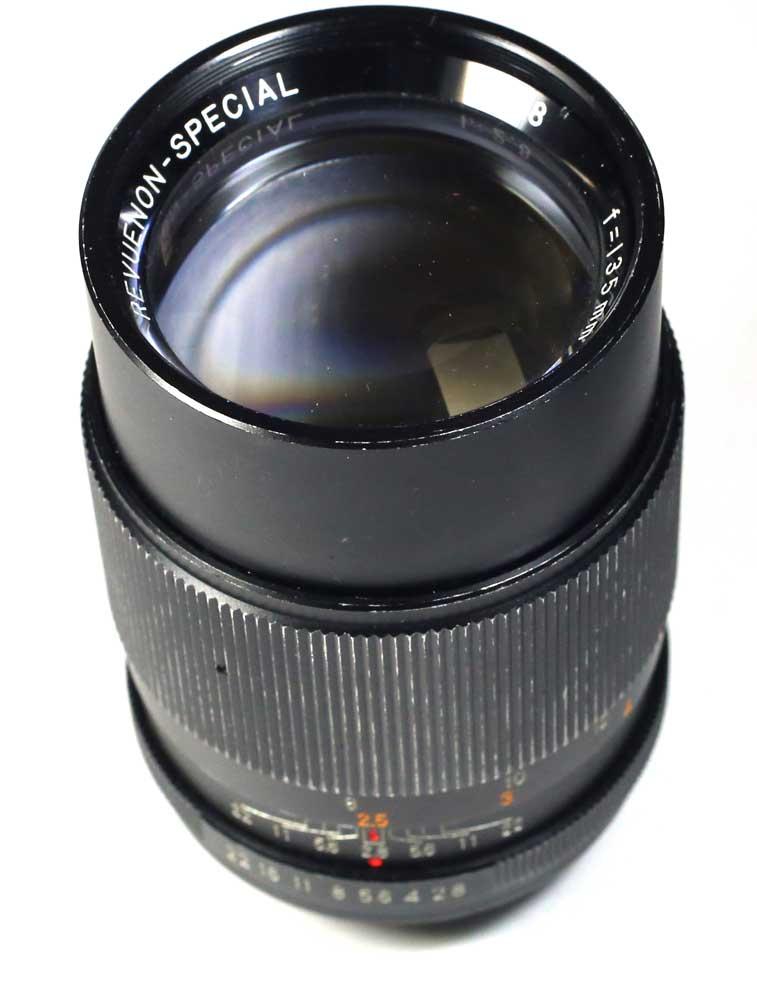 レフエノン・スペチャル for M42 M42用 f=35mm 1:2.8 日本製レンズ 2.8/35 REVUENON Special