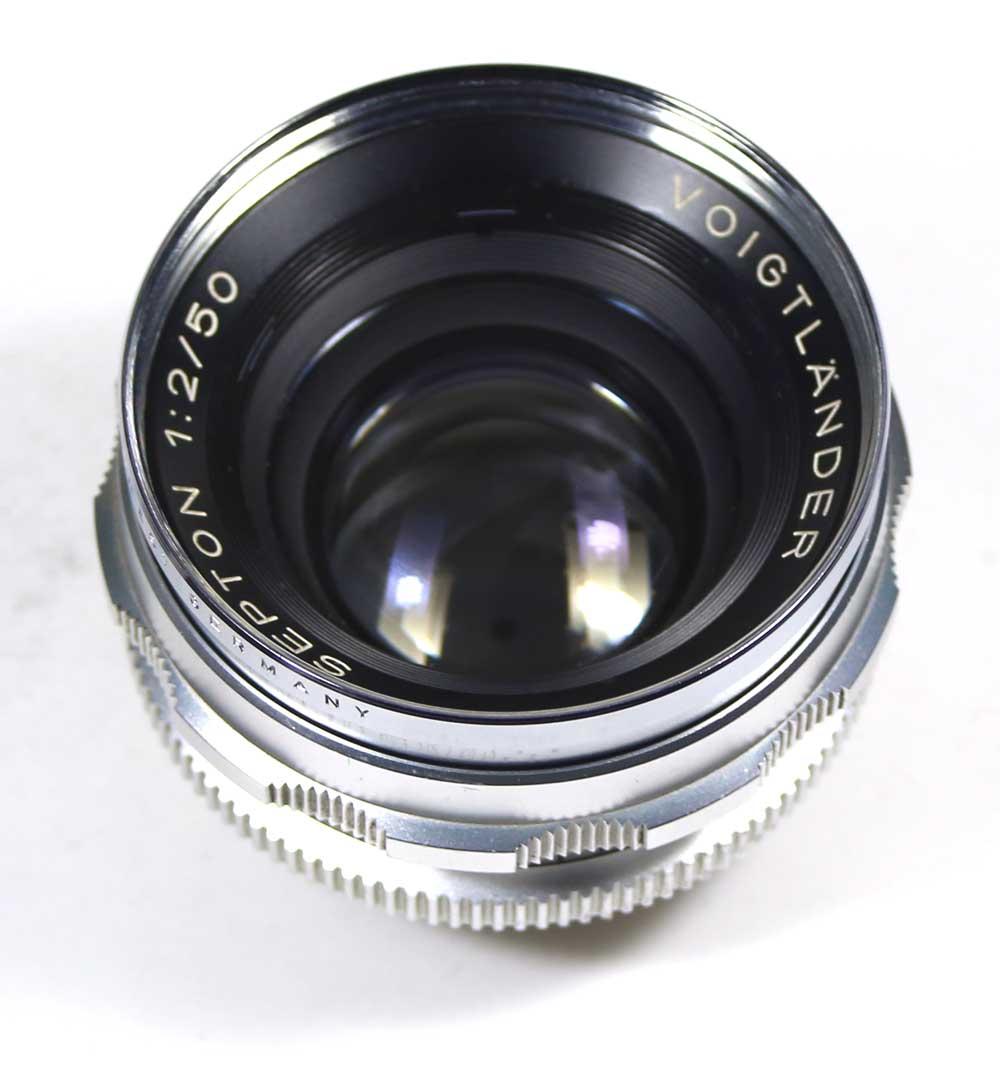 ドイツ製レンズ フォクトレンダー ゼプトン 2/50Voigtländer Septon 1:2/50