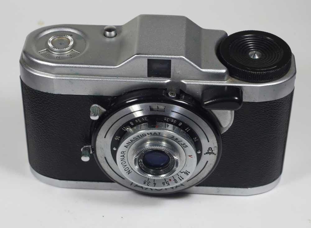 在德國 24 x 24 格式相機蔡司 Ikon 分類 VEB ZEISS IKON TAXONA