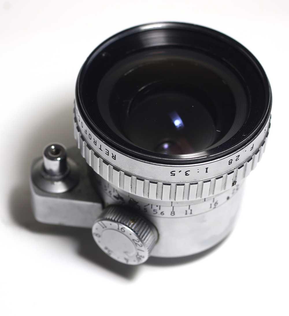 フランス製レンズ アンジェニュー 28/3.5 エクサクタ用P. Angenieux Paris Retrofocus 28/3.5 R11 for Exakta