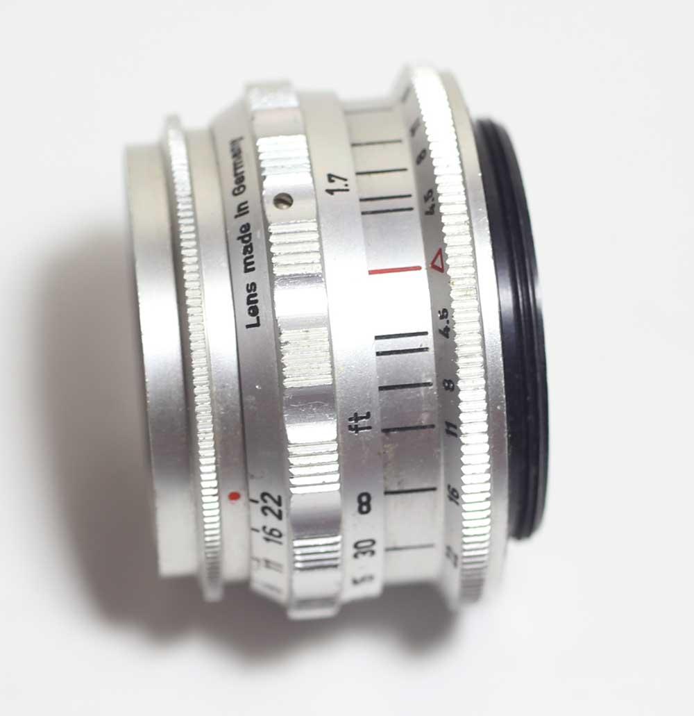 ドイツ製レンズ シュタインハイル クルミゴン 4.5/35 M42Steinheil München Culmigon 1:4.5 f=35mm for M42