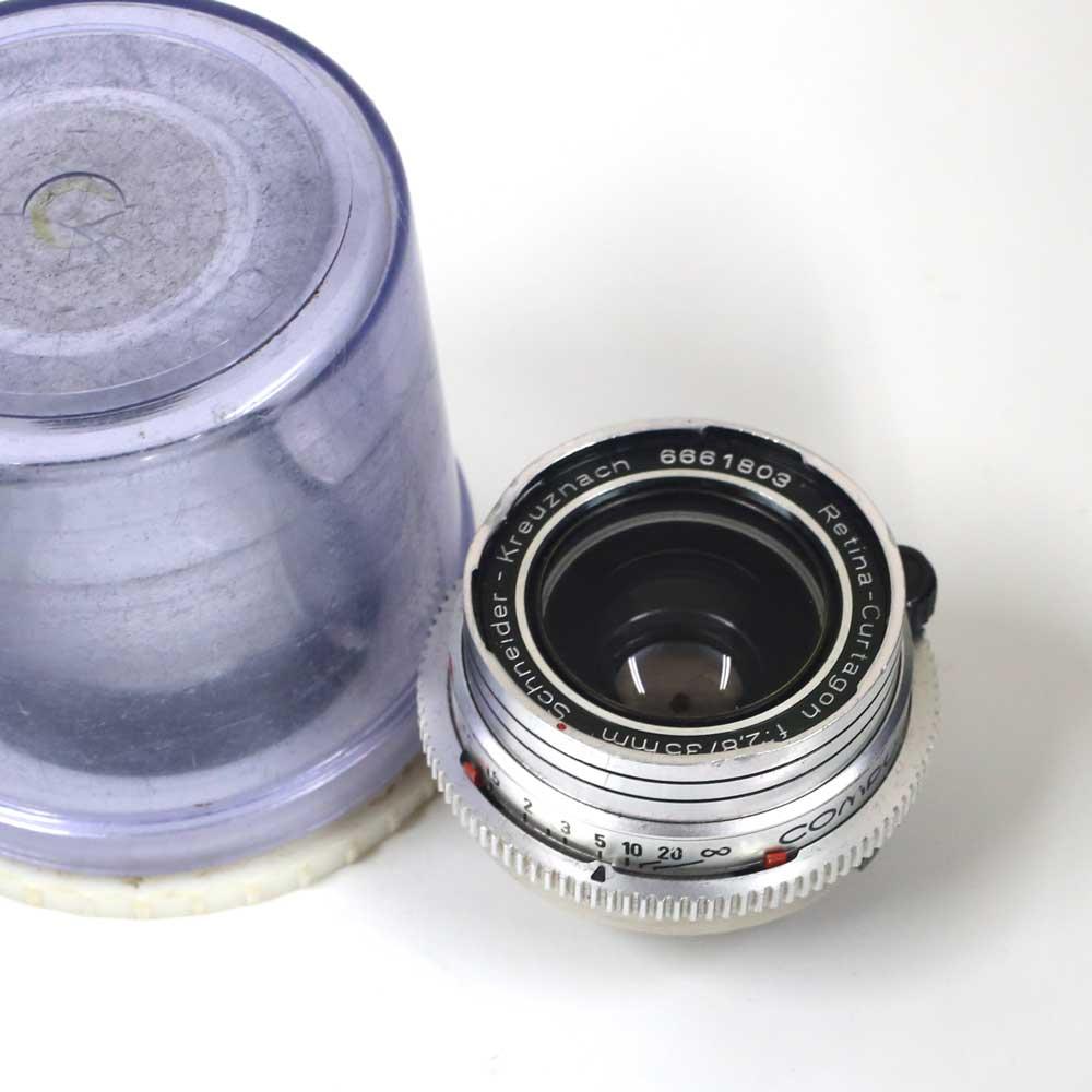 ドイツ製レンズ シュナイダー レチナクルタゴン 35/2.8 レチナリフレックス用Schneider-Kreuznach Retina-Curtagon 2,8/35mm for Retinareflex