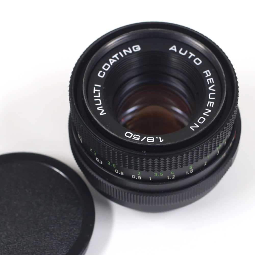 ドイツ製レンズ ペンタコン オート1.8/50 M42用Pentacon auto 1.8/50 for M42