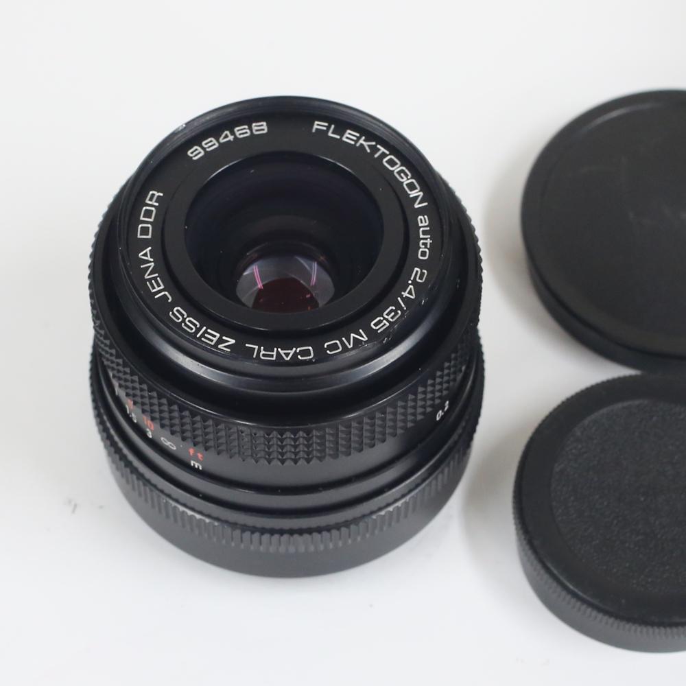 ドイツ製レンズ カール・ツァイス・イエナ フレクトゴン MC2.4/35 M42用Carl Zeiss Jena Flektogon 2,4/35 MC for M42