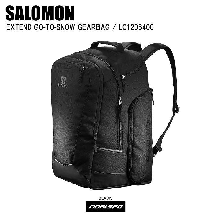 商品レビュー記入でクーポンGET SALOMON サロモン EXTEND GO-TO-SNOW GEARBAG エクステンド ゴートゥーギアバッグ LC1206400 ブラック スキー スノボ ゲレンデ 旅行 遠征 保管 収納