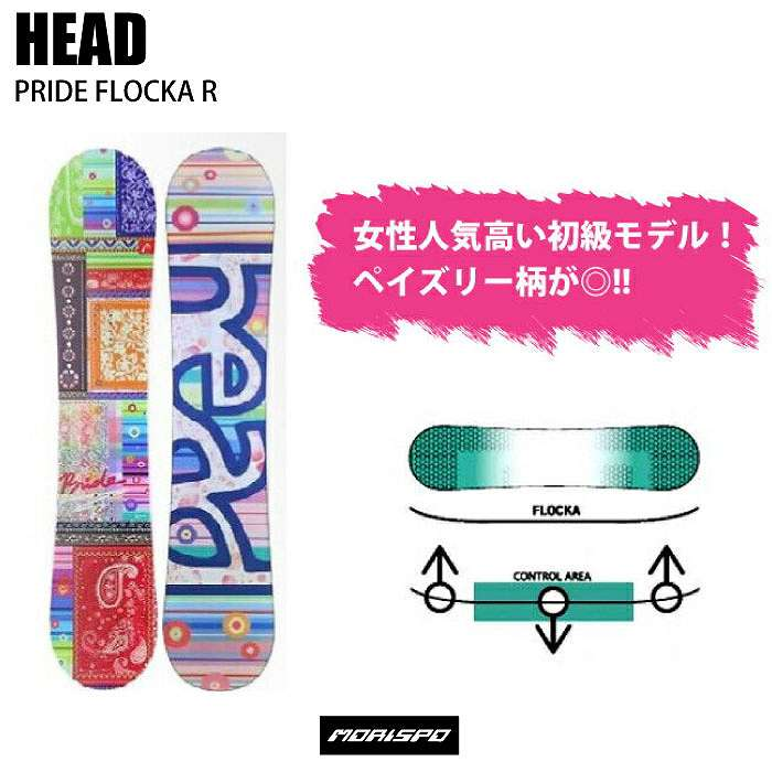 HEAD  ヘッド  PRIDE FLOCKA R  プライドフロッカアール  16-17 [モリスポ] スノーボード
