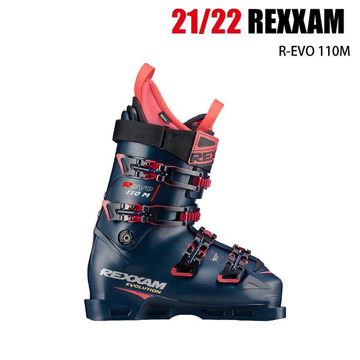 <title>商品レビュー記入でクーポンGET 2021 REXXAM R EVO 110M H 新品未使用正規品 アールエボ 20-21 レグザム スキーブーツ 中上級 デモ 基礎 オールラウンド</title>