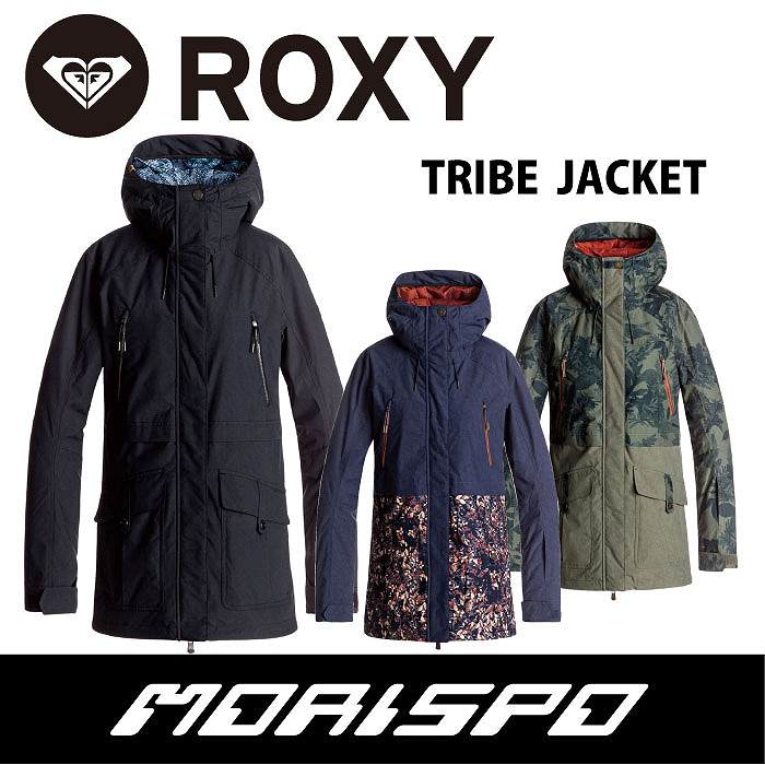 ROXY / ロキシー / TRIBE JACKET / ERJTJ03120 / 17-18 [モリスポ] スノーボードウエア レディスジャケット スノボ スキーウエア