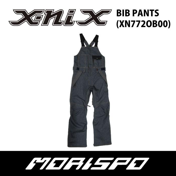 X-NIX  エクスニクス  BIB PANT  XN772OB00  17-18 [モリスポ] スノーボードウェア メンズパンツ スノボ