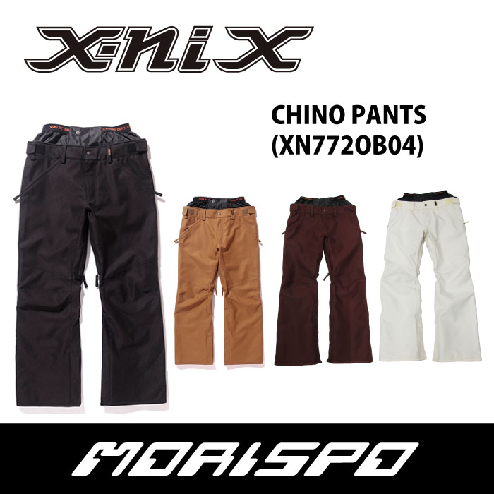 X-NIX  エクスニクス  CHINO PANT  XN772OB04  17-18 [モリスポ] スノーボードウェア メンズパンツ スノボ