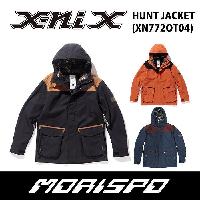 X-NIX / エクスニクス / HUNT JACKET / XN772OT04 / 17-18 [モリスポ] スノーボードウェア メンズジャケット スノボ