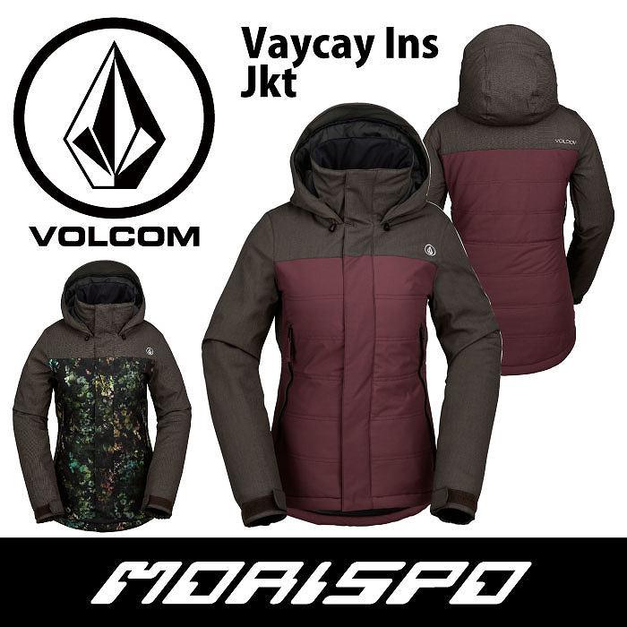 VOLCOM / ボルコム / VAYCAY INS JACKET / H0451709 / 16-17 [モリスポ] スノーボードウエア レディスジャケット スノボ
