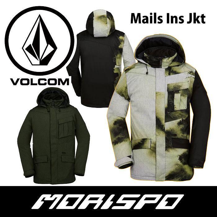 VOLCOM / ボルコム / MAILS INS. JACKET / G0451706 / 16-17 [モリスポ] スノーボードウエア メンズジャケット スノボ