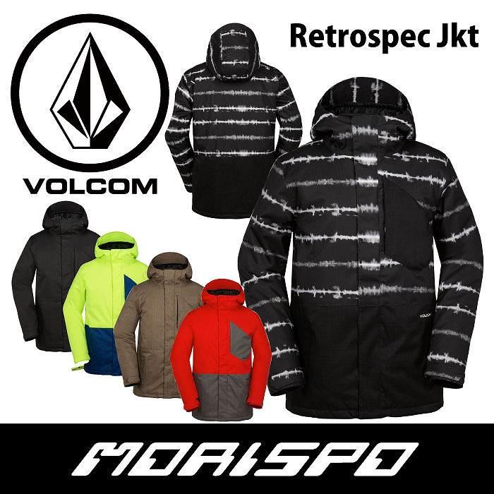 VOLCOM / ボルコム / RETROSPEC JACKET / G0651711 / 16-17 [モリスポ] スノーボードウエア メンズジャケット スノボ