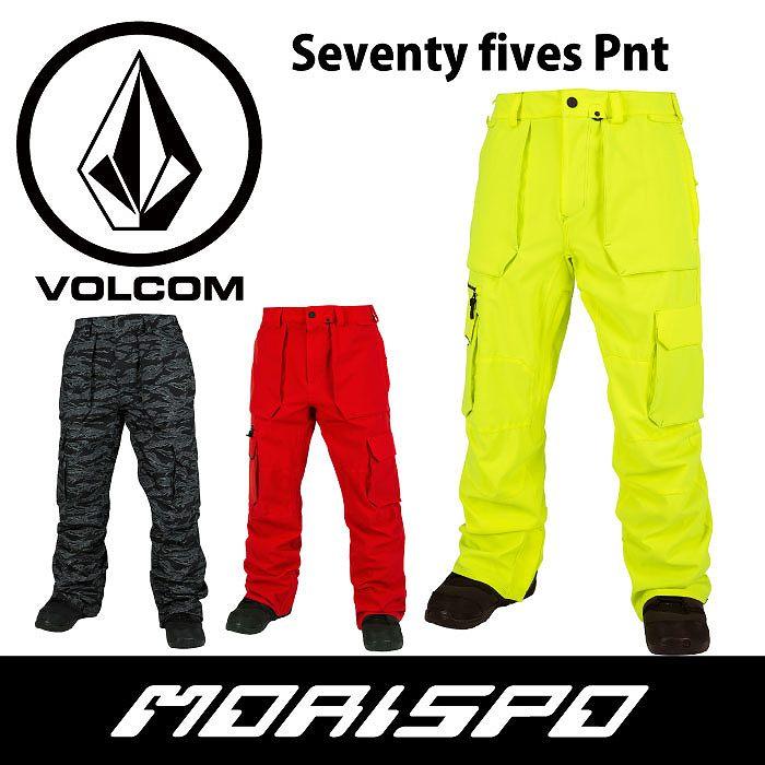 VOLCOM  ボルコム  SEVENTY FIVES PANT  G1351716  16-17 [モリスポ] スノーボードウエア メンズパンツ スノボ