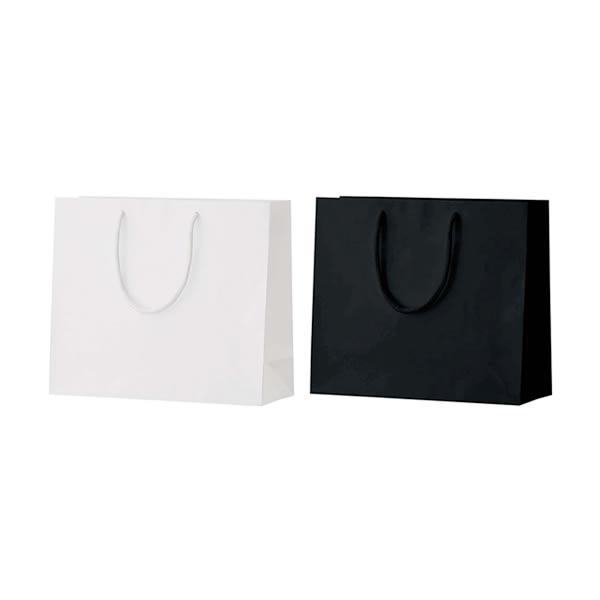 卓抜 表面をコーティングした水にも強い紙袋 贈呈 A4横型サイズ 紙袋 10枚入り シャイニーバッグMW320×110×270mm