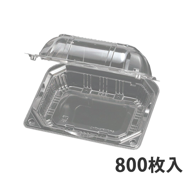 【青果物容器】APクリアルーフ-L 10H 163x126x57mm【代引不可】