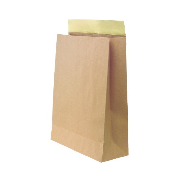 【紙袋】宅配袋(ビッグ-1) 380×150×500+60mm〈100枚入り〉【代引き不可】