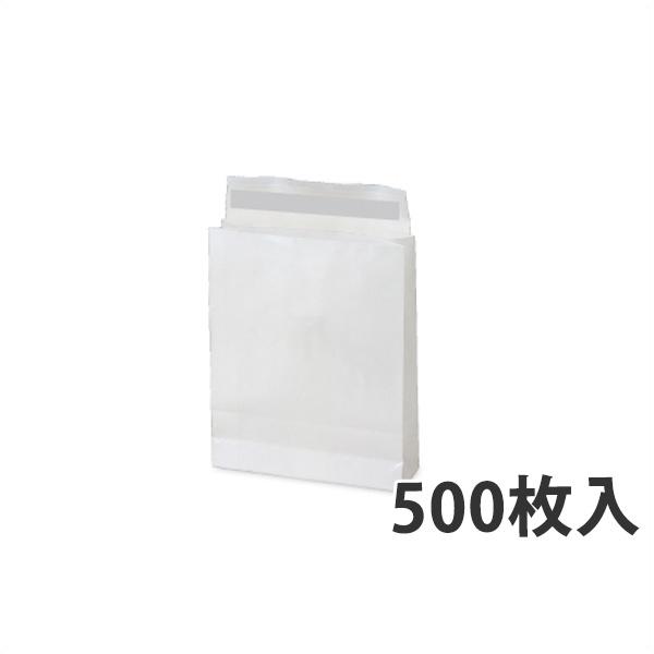 【紙袋】WP PET 宅配袋(小) 260×80×320+60mm〈500枚入り〉【代引き不可】