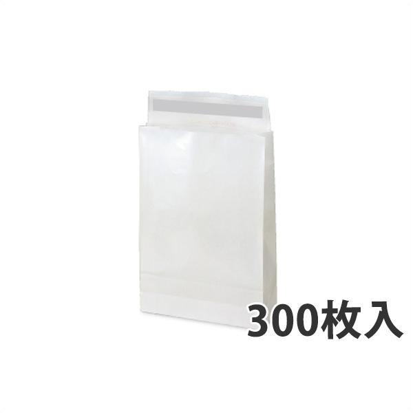 【紙袋】WP PET 宅配袋(中) 260×80×380+60mm〈300枚入り〉【代引き不可】