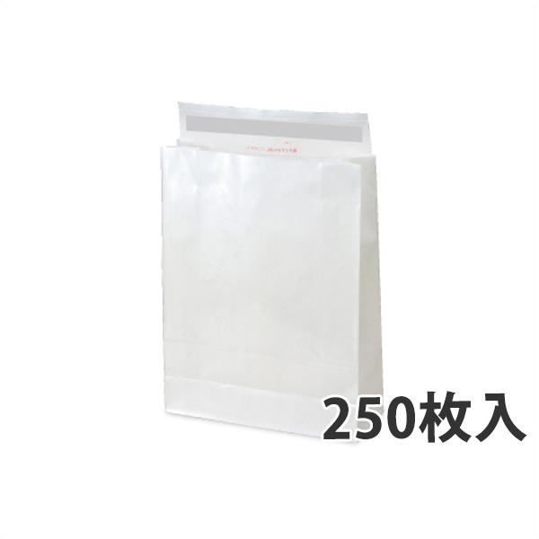 【紙袋】WP PET 宅配袋(大) 320×115×420+60mm〈250枚入り〉【代引き不可】