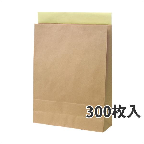 【紙袋】宅配袋(特大) 350×115×460+60mm〈300枚入り〉【代引き不可】