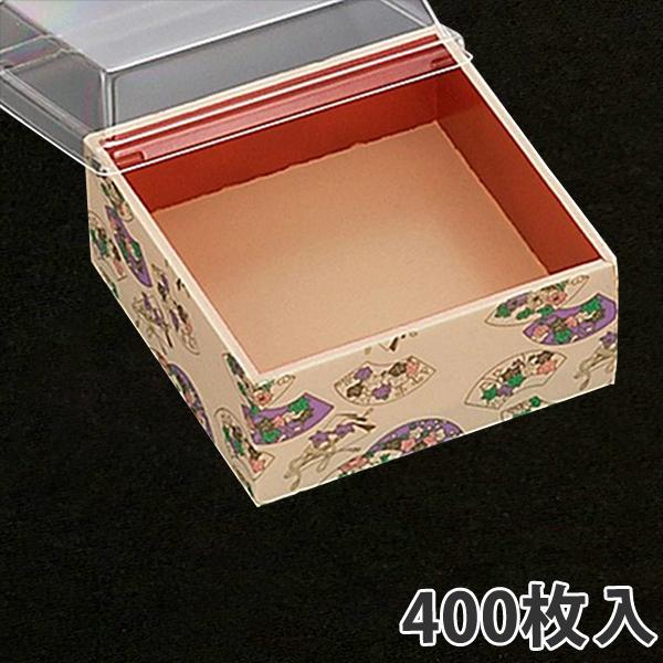 【弁当容器】さが野4寸 千扇 120×120×53mm(400枚入)