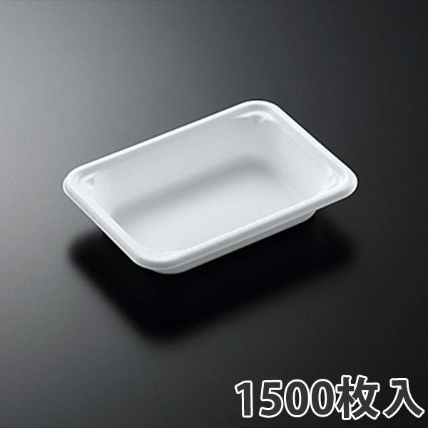 【弁当容器】 SDエブリ 18-13 白 180×130×34mm(1500枚入)