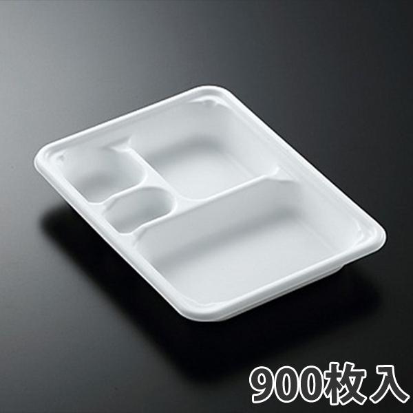【弁当容器】 SDエブリ 23-17E2 白 230×170×31mm(900枚入)