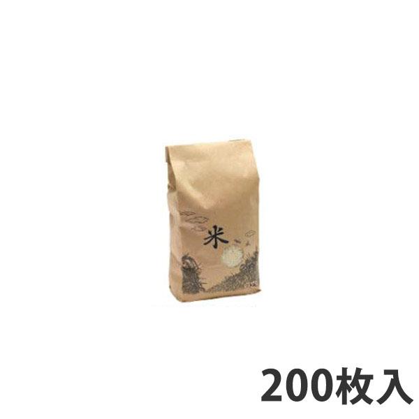 【米袋】 米袋WT窓付き (テープ) 2kg (200枚入)