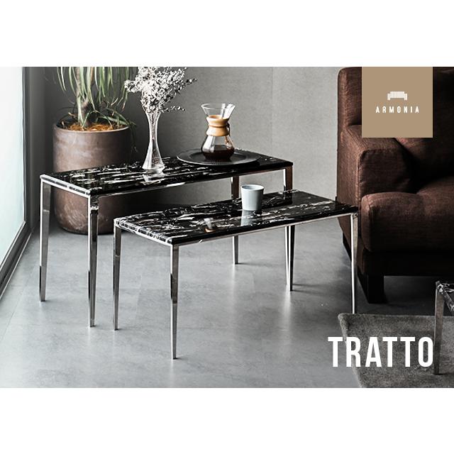 大理石テーブル 送料無料 テーブルセット TRATTO セパレートテーブル サイドテーブル 組み合わせテーブル 天然大理石 大理石柄 マーブル 大理石 コーヒーテーブル 北欧 インテリア 家具 モダン アルモニア