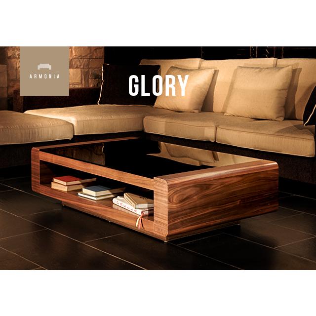 テーブル 【送料無料】 Glory ガラステーブル センターテーブル 高級感テーブル ガラステーブル リビングテーブル 木製 収納付き モダンテイスト モダンリビング 北欧 ナチュラル 新生活