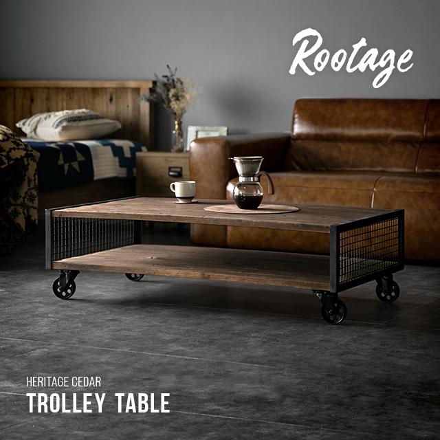 ローテーブル テーブル 完成品 送料無料 無垢材 センターテーブル 収納付き 棚 キャスター付き 120cm リビングテーブル コーヒーテーブル アイアン 長方形 おしゃれ ヴィンテージ ビンテージ アンティーク 古材