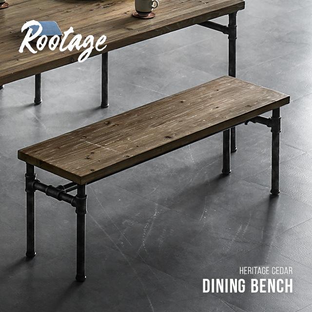 ダイニングベンチ 送料無料 無垢材 天然木 幅125cm ベンチチェア ベンチ チェア イス 椅子 いす スツール アイアン 木製ベンチ 木製チェア 木製イス おしゃれ ヴィンテージ ビンテージ アンティーク 古材