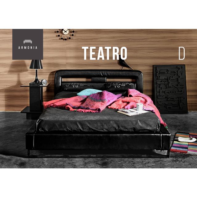 ベッド ベッドフレーム ダブルサイズ D bed ロータイプ 寝室 革 レザー 合皮 合成皮革 すのこ インテリア 家具 高級 ラグジュアリー モダン 新生活