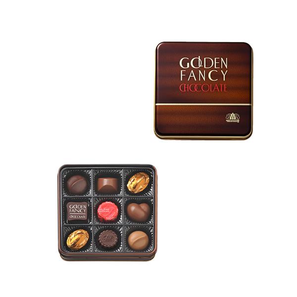 Morozoff黄金的粉丝海巧克力9个装