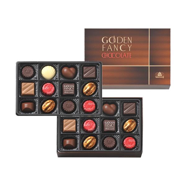 莫罗佐夫金花式巧克力 24 件 (两级果酱)