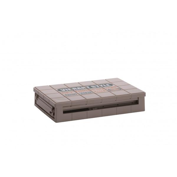 浅型 リシェルコンテナ 楽天 折りたたみ収納 おりたたみ 山田化学 アウトドア カラーボックス VIBRANT 通販
