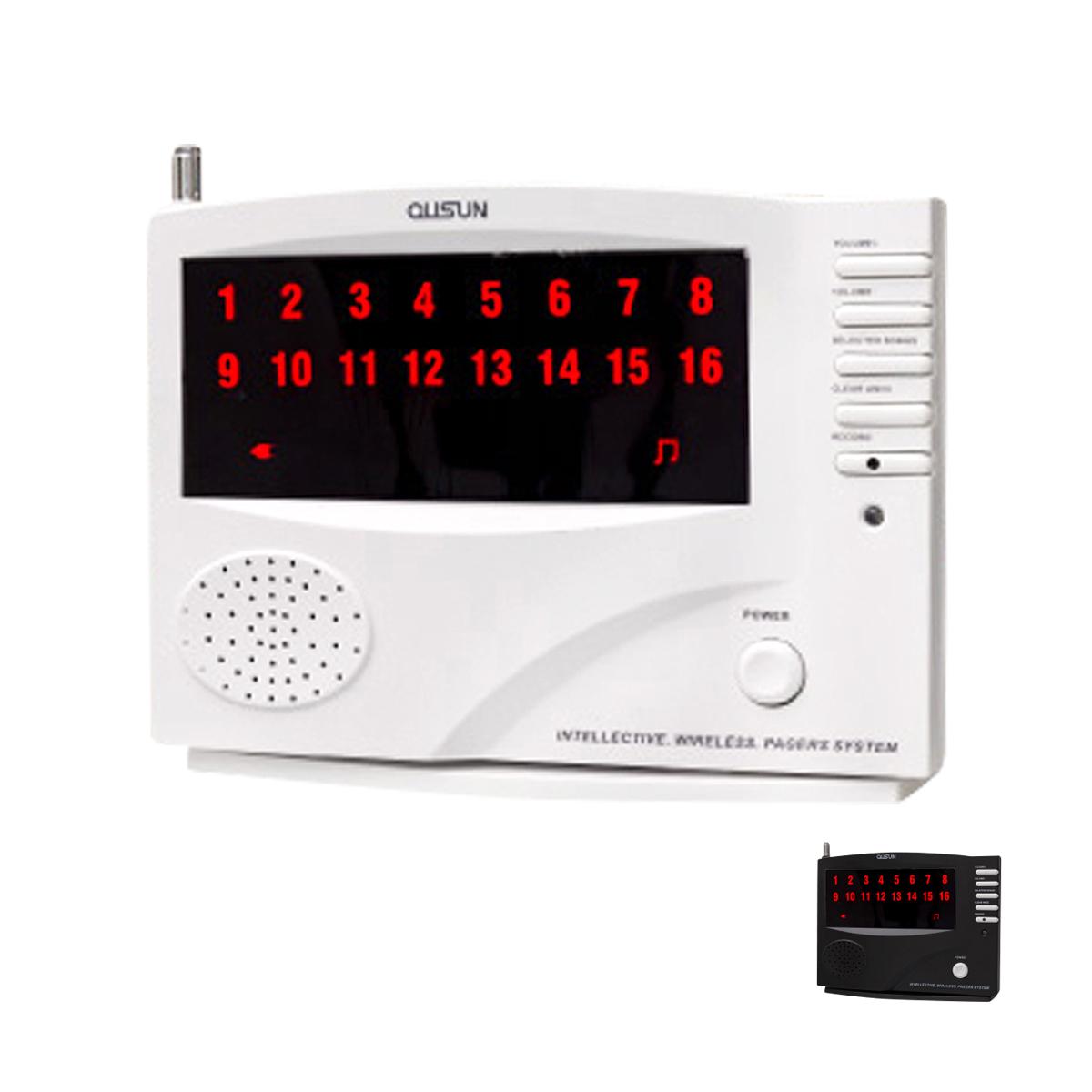 ワイヤレスチャイム コードレスチャイム 業務用 16ch 増設用 親機 単品 選べる ホワイト ブラック 最大登録16ch 店舗用 インターホン 呼び鈴 呼び出しチャイム 受信機 @72001