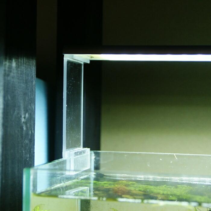 アクアテラリウムのライトをスッキリとリフトアップ アイテム勢ぞろい 20cm延長 アクリル ライトリフトスタンド ライトスタンド LEDライト アクアテラリウム 驚きの値段 水槽 アクリアウム