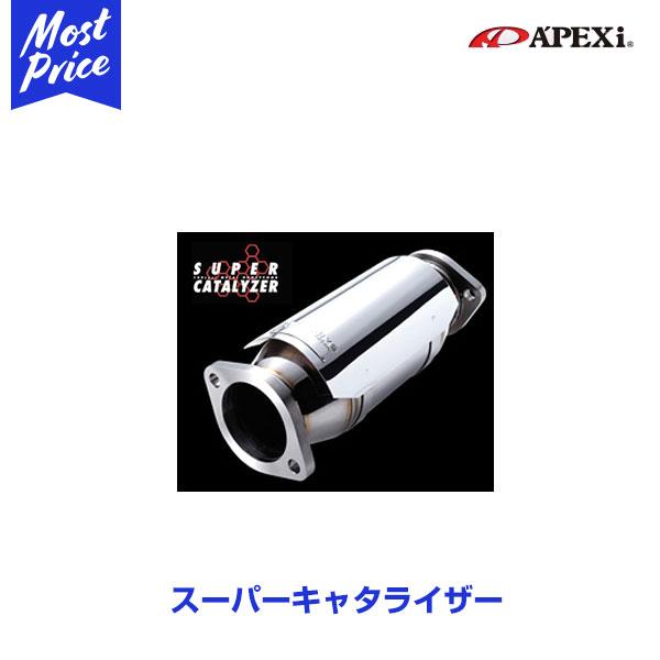 APEXIマフラー TOYOTA アルテッツァ GF-SXE10 3S-GE 98/10~01/5 SUPER CATALYZER 【149-T006】 φ60