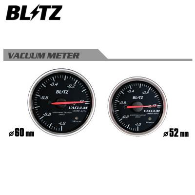 BLITZ ブリッツ RACING METER SD φ60 VACUUM METER バキューム計 【19562】