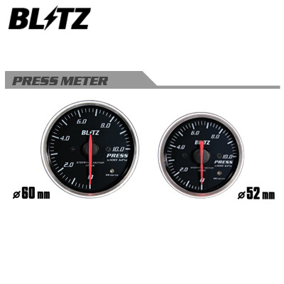 BLITZ ブリッツ RACING METER SD φ60 PRESS METER 圧力計 【19564】