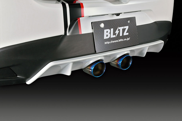 BLITZ ブリッツエアロスピード R-コンセプト リアディフューザー 【60188】MAZDA DEMIO(DJ5FS)用