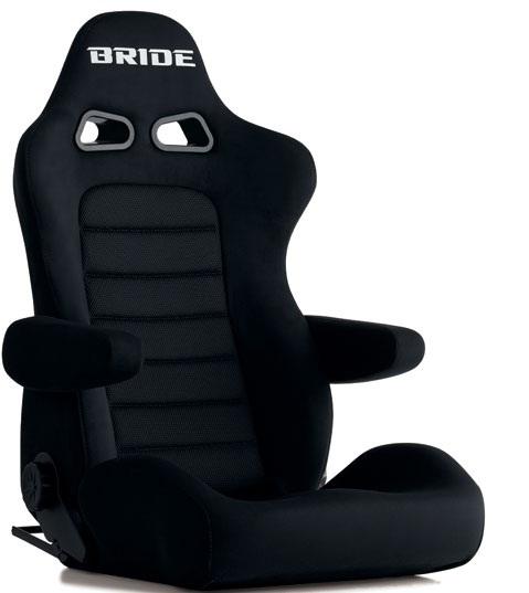 【4月10日はスポーツシートの日 キャンペーン対象商品】 ブリッド BRIDE シート リクライニングシート EUROSTER2 CRUZ ブラックBE 【E54AAN】