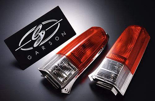 【代引き不可】 ギャルソン MC11/MC21S ワゴンR 前期専用 クリスタル&レッドテールレンズ GE010-95