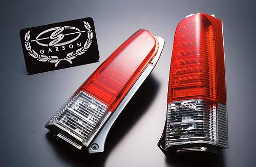 【代引き不可】 ギャルソン LED クリスタル&レッドテールレンズ MC1#/2#S ワゴンR GE010-96