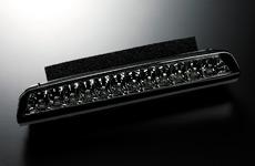 【代引き不可】 ギャルソン LED ハイマウントストップランプ A/MNH1# アルファード(前期/後期共通【レンズカラー:スモーク】  GE011-65